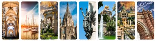 Historyczne widoki Barcelony