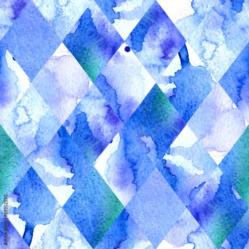 Akwarela geometryczne tło