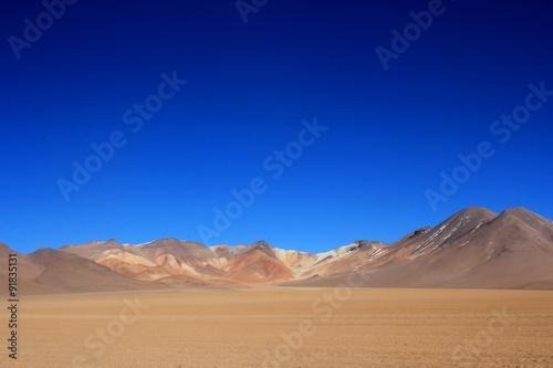 Boliwijska pustynia
