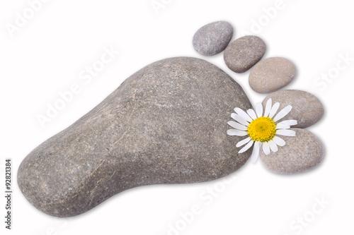 Symbol stopy kamieni