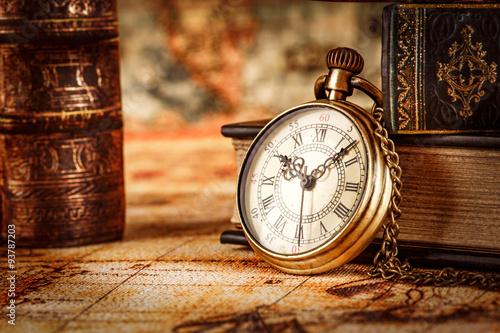 Zegarek kieszonkowy w stylu vintage