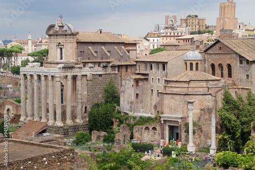 Forum Romanum w Rzymie