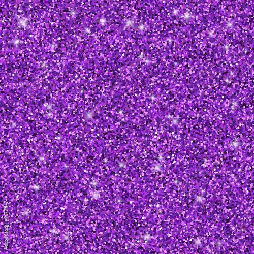 Purple glitter seamless pattern, vector texture