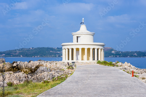 Lighthouse of St. Theodore at Argostoli, Kefalonia island in Greece