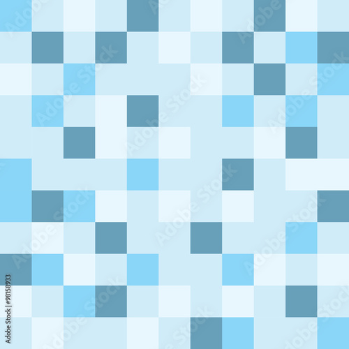 vector square mosaic pattern seamless