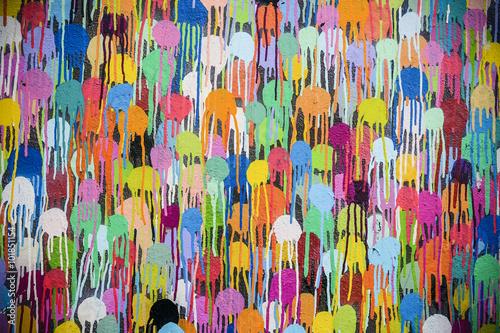 Graffiti art painting