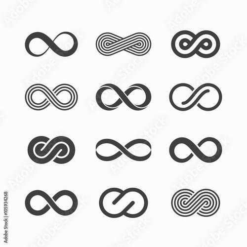 Ikony symbol nieskończoności