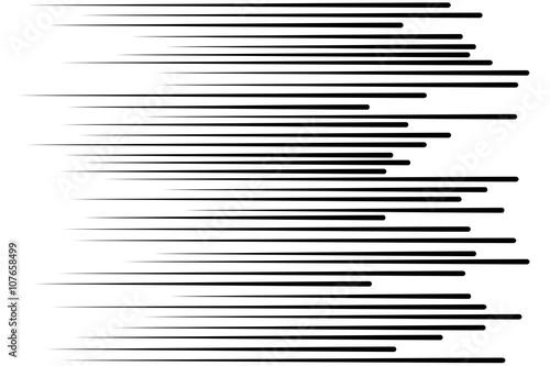 Linie prędkości Latające cząsteczki Szwu