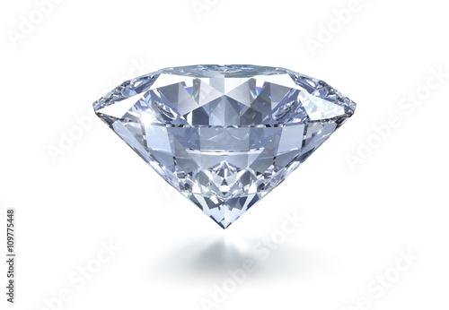 Diamant auf Weiss