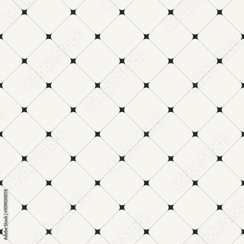 Simple clean modern diagonal tiles background - vector seamless