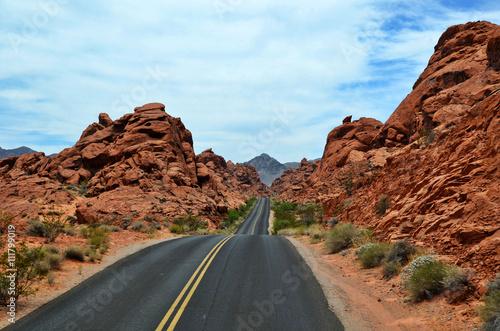 Droga na pustyni
