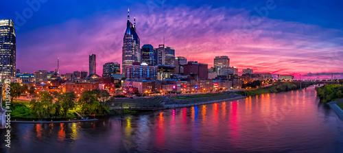 panoramę Nashville