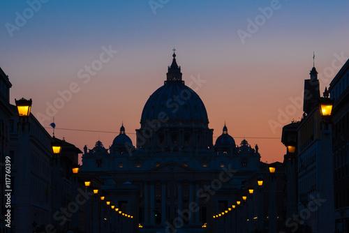 Via di conciliazione, Rzym