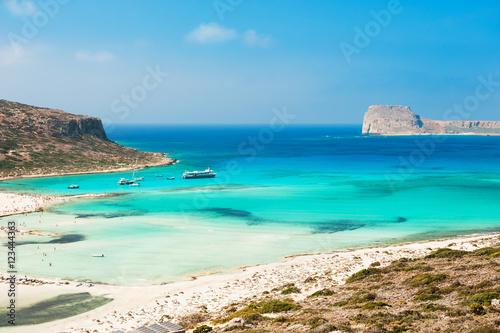 Balos Lagoon na wyspie Krecie, Grecja