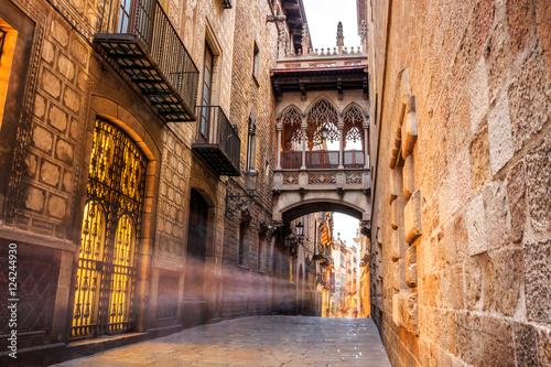 Barri Gotic w Barcelonie, Hiszpania