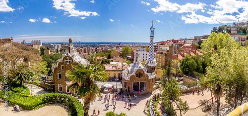Gaudi Park Barcelona Hiszpania