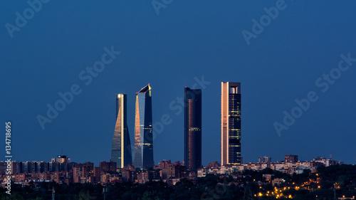 Panoramę Madrytu