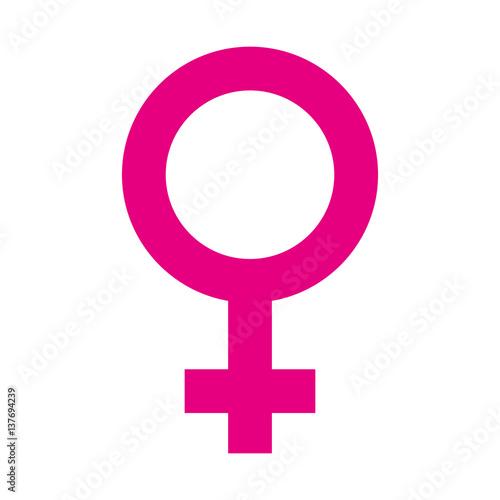 żeński ikona odizolowywający ikona wektorowy ilustracyjny projekt