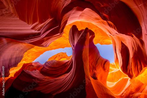 Formacja naturalna skalna Kanion Antylopy