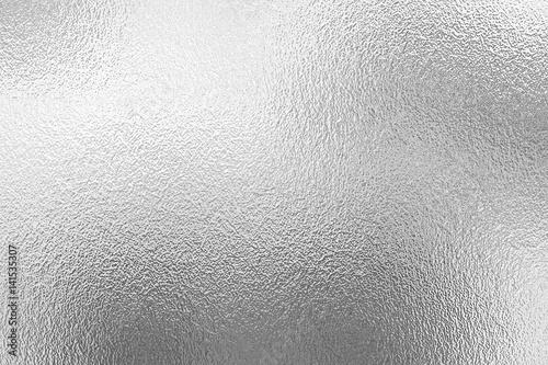 Tekstura srebrnej folii