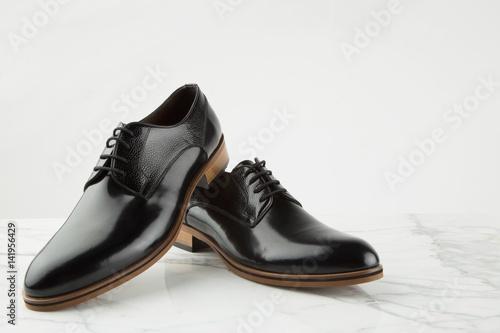 Classic men's leather shoes