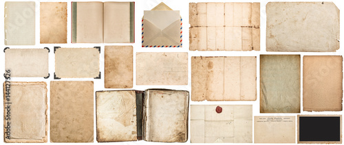 Tekstury papieru książka koperta kartonowe zdjęcie ramki rogu