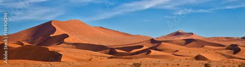 Panoramiczny z Sossus Dunes, Namibia