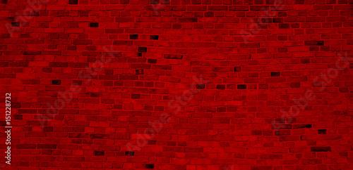 cegła, mur, ceglany, czerwony