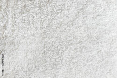 Syntetyczna futerkowa biała tekstura dla tła