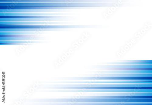Błękitna abstrakcjonistyczna horyzontalnych linii tła technologia z kopii przestrzenią, wektor