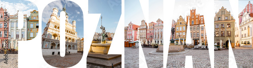Listy POZNAŃSKIE wypełnione zdjęciami znanych miejsc i krajobrazów miejskich w Poznaniu