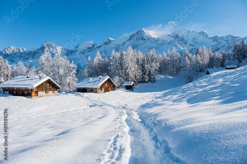 Zima Mont Blanc
