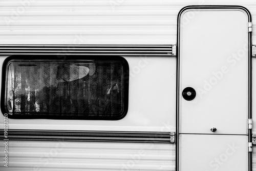camping door and window
