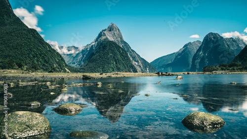 Milford Sound w Nowej Zelandii