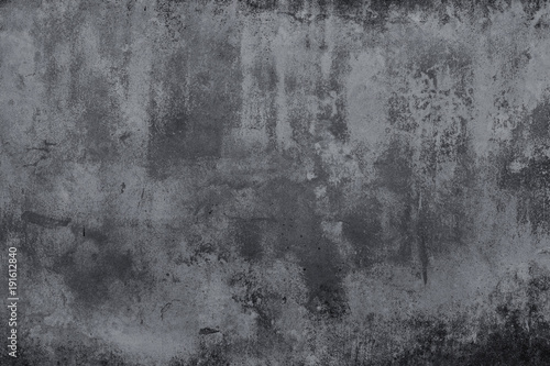 Ciemny grunge tekstury betonu ściana