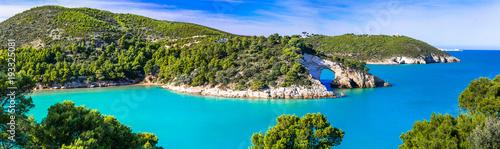 Italian holidays in Puglia - Natural park Gargano with beautiful turquoise sea