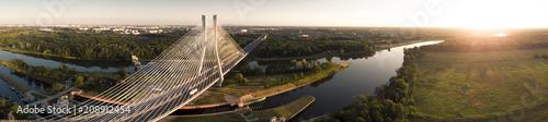 Redzinski bridge in Wroclaw in Poland