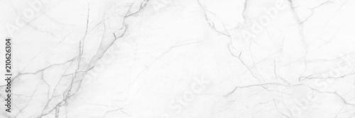 panoramiczne białe tło z marmuru kamień tekstury dla projektu