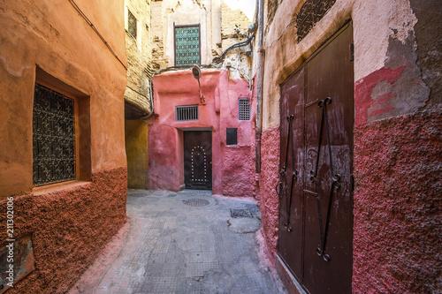 Aleja w Marakeszu, Maroko