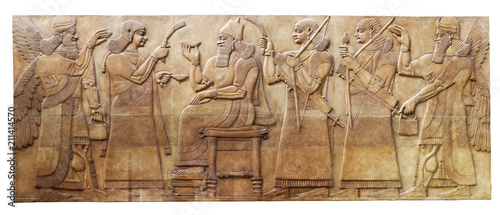 Starożytna ulga od Nimrud