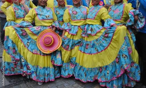 Stroje ludowe Kolumbia
