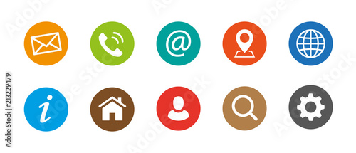 Kontakt Symbole web