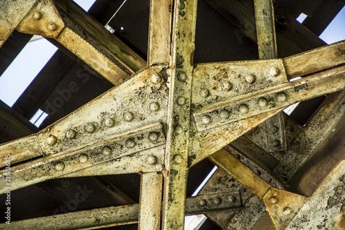 Old bridge from below