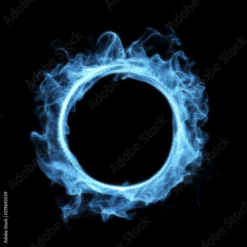 Świecący portal Blue Smoke Magic