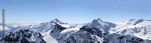 Alps Halna panorama na Titlis, Szwajcaria