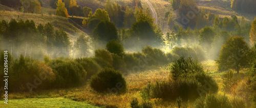 świt na pograniczu polsko litewskim