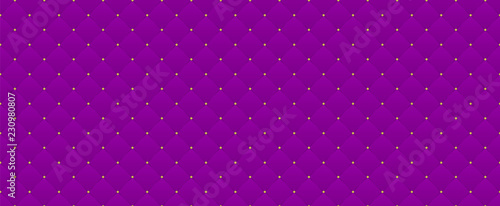 Deep purple seamless pattern. Decorative festive backdrop for Xmas premium royal party. Luxury template with vintage leather texture wallpaper. Background for invitation card. Saturated color backdrop