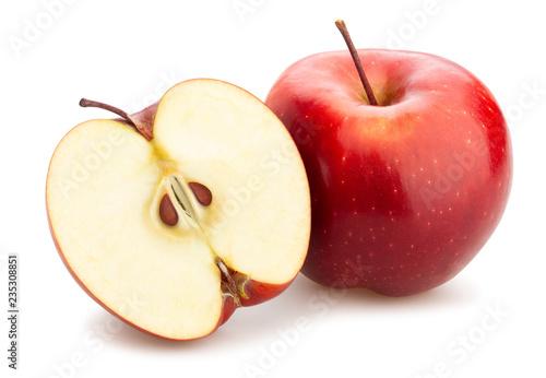 czerwone pyszne jabłko