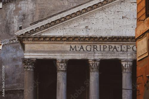 rzym oraz ulice rzymu
