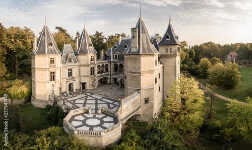 Zamek w Gołuchowie, wielkopolska atrakcja turystyczna.